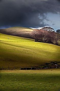 The Rolling Hills of Broughton, Scotland // Premium Canvas Prints & Posters… Outlander, Places To Travel, Places To See, Beautiful World, Beautiful Places, Photos Voyages, England And Scotland, Scotland Travel, Visiting Scotland