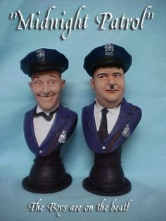 BUY: Laurel and Hardy Police officers BUSTS
