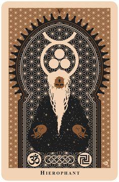 Image result for r. black tarot deck v