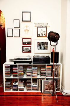 CD and record collection