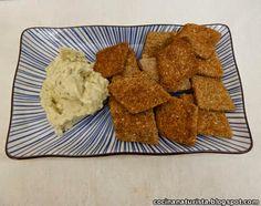 Galletas Integrales saladas con semillas