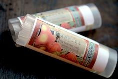 GREEN APPLES Lip Balm New Formula-Made with by thecharmingfrog