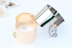 Bracelete Prata e Dourado da Dáli Acessórios, www.daliacessorios.com