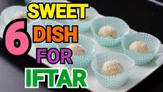 6 SWEET RECIPES FOR IFTAR by (YES I CAN COOK) #2019Ramadan #IftarSpecial #SweetRecipes #Quick #Easy - YouTube Sweets Recipes, Yummy Recipes, Yummy Food, Quick Recipes, Easy Dinner Recipes, Easy Meals, Yes I Can, Easy Youtube, Iftar