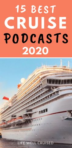 If you love cruising, you've got to check out these amazing cruise podcasts! Whether you cruise with Royal Caribbean, Disney, Carnival or even a luxury cruise line, you're bound to find a favorite cruise podcast to listen to and enjoy! #cruisepodcast #cruisevlogs #cruiseblogs #cruise #cruiseaddict #cruising Top Cruise, Disney Cruise Tips, Best Cruise, Cruise Port, Cruise Travel, Luxury Cruise Lines, Carnival Cruise Ships, Cruise Ship Reviews, Cruise Critic