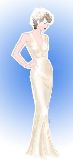 Bridal fanart of G.I.Joe's Lady Jaye.