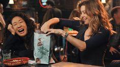 Cristina Yang, Meredith E Cristina, Meredith And Christina, Greys Anatomy Frases, Greys Anatomy Cast, Grey Anatomy Quotes, Meredith Grey, Addison Montgomery, Gilmore Girls