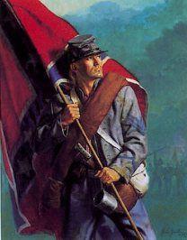Confederate Color Guard