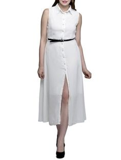 Check out what I found on the LimeRoad Shopping App! You'll love the white georgette belted dress. See it here http://www.limeroad.com/products/11285761?utm_source=20a3b788db&utm_medium=android