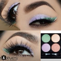Love this look with Motives Cosmetics new Spring Pallet at www.motivescosmetics.com/bunky16