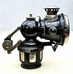 Lucas carbide lamp......