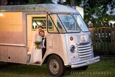 """Michelle Bach and John Harrison tied the knot on December 5th during their outdoor wedding at The Acre in Orlando, Florida. The Acre """"is the perfect combination of outdoor rustic charm and Orlando whimsy."""" With…"""