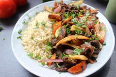 Lomo Saltado Side
