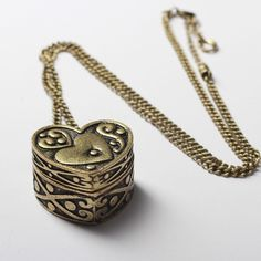 Put into a locket whatever fills your heart.