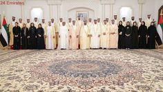 Ministers take oath before Sheikh Mohammed bin Rashid