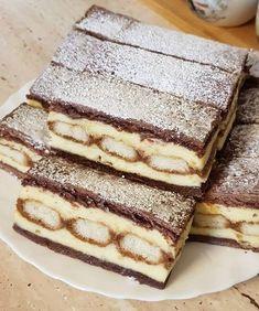 Már rég készítettem, azonban most úgy ízlett a családnak, hogy hamarosan újra megsütöm. Hungarian Desserts, Hungarian Recipes, Sweet Recipes, Cake Recipes, Dessert Recipes, Croation Recipes, Good Food, Yummy Food, Arabic Food