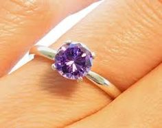 photos of solitaire round brilliant diamond rings - Google Search