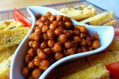Křupavá papriková cizrna Chana Masala, Beans, Vegetables, Cooking, Ethnic Recipes, Food, Fitness, Bulgur, Red Peppers