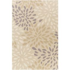 Surya Cosmopolitan Ivory Hand Tufted Rug (92 CAD) ❤ liked on Polyvore featuring home, rugs, surya rugs, surya, cream rug, ivory area rug and beige area rugs