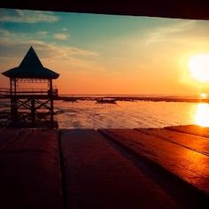 #Kenjeran in The Morning by Vincentius Rudi - #Instagram & Mobile #Android ( #indonesia, #smartphoneography, #sunrise, beach, landscape, #surabaya )