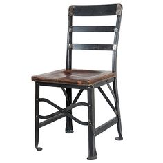 Beautifully crafted, durable wood and metal restaurant chair. Factory direct pricing from our Miami Showroom. Call 305-697-2217 for details.