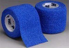 Coban Self-Adherent Wrap 2 x5 Yd Blue Bx/36