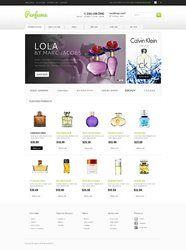 Mẫu thiết kế web mỹ phẩm, nước hoa