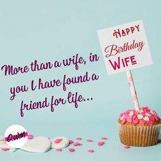 We have covered for you Romantic Happy birthday wishes for wife, funny birthday quotes for wife, best bithday messages, status, greetings with images that you can say and send on her birthday. Wife Birthday Quotes, Birthday Wishes For Wife, I Love My Wife, Love And Respect, Romantic Quotes, Funny Quotes, Place Card Holders, Messages, Live