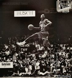 Michael Jordan Gatorade Slam Dunk Contest