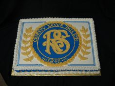 Relief Society Seal | Relief Society Cake for church. The blue circle is mmf and everything ...