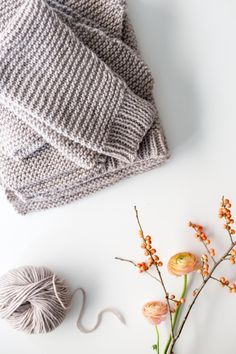 Sharing all the little details about how to block your latest knit!