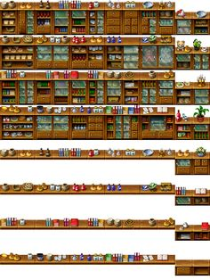 RPG Maker Tile - Furniture by Ayene-chan.deviantart.com on @deviantART