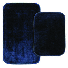 Latest bathroom rug sets on sale for 2019 Dark Brown Bathroom, Dark Blue Bathrooms, Blue Bathroom Rugs, Home Depot Bathroom, Bathroom Doors, Washroom, Bathroom Flooring, Bathroom Floor Coverings, Toilet Mat