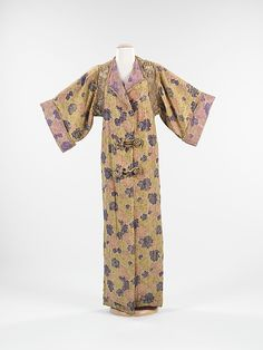 [Paul Poiret] (French) Silk Evening Coat (ca. 1912)