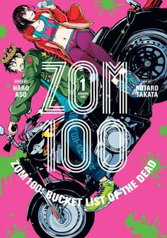 """It takes tropes familiar to cheesy comedy movies and puts them on the backdrop of a horror film."" James reviews Zom 100: Volume 1 from VIZ Media."