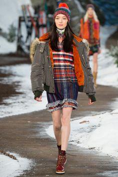 Tommy Hilfiger Fall 2014 - NYFW - Fashion Runway