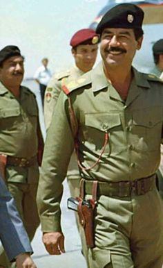 Iraqi Military, Iraqi Army, Iraqi President, Beard Logo, Saddam Hussein, Actor Photo, Baghdad, World Leaders, World History