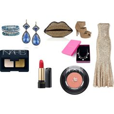 red carpet, created by drue-young.polyvore.com