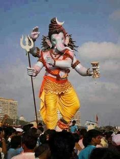 Top 20 photos of mega ganesha of the year 2018 mumbai Shri Ganesh Images, Ganesha Pictures, Lord Shiva Pics, Ganesha Sketch, Ganpati Bappa Wallpapers, Happy Ganesh Chaturthi Images, Ganesh Lord, Lord Krishna, Baby Ganesha