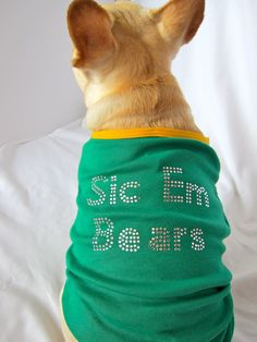 Baylor University Dog T-shirt