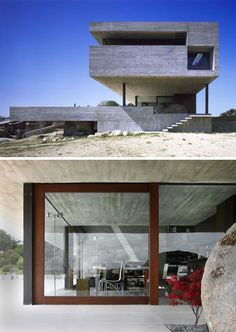 Rock + Hard Place: Concrete Home Mixes Flat with Fantastic
