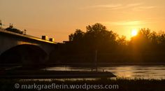 Picknick am Canal: Sonnenuntergang und warten auf die Kopfball-Ente