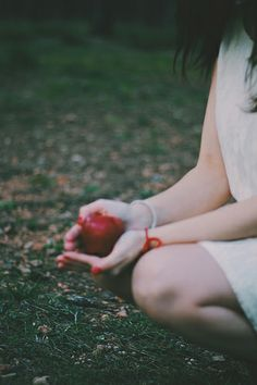 An apple red as blood series* Katratzi Photo
