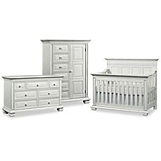 image of Soho Baby New Haven Nursery Furniture Collection in Oyster White