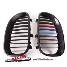 Parrilas Frontales para Coche BMW E60 E61 5 Series Color Negro Brillante -- 40,74€ Envío gratuito a toda España en todos los productos