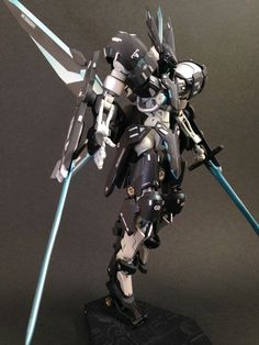 MODELER: Peco_smile MODEL TITLE: Grimgerde Black Knight ver. 2.0 DARK MOON MODIFICATION TYPE: custom color scheme, custom details, cu...