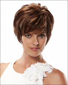 Fashion Elegant Women Short Wavy Lace Wigs