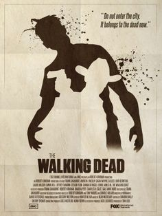 The Walking Dead - Poster/ Season 1 by Max-André Hubert