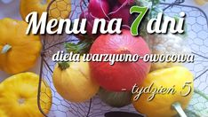 Fruit Diet, Weekly Menu, Cantaloupe, Feel Good, Carrots, Mango, Food And Drink, Healthy Eating, Vegetables