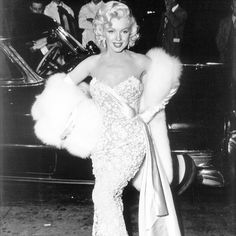 Marilyn Monroe at the premiere of How To Marry A Millionaire, November 1953